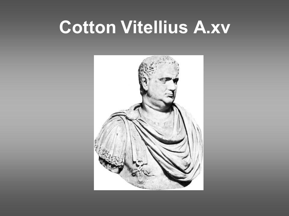 Cotton Vitellius A.xv