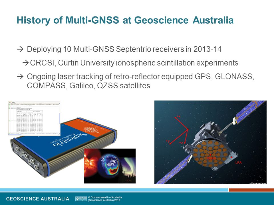 Legal Issues of using GPS in Australia  What about the other GNSS?