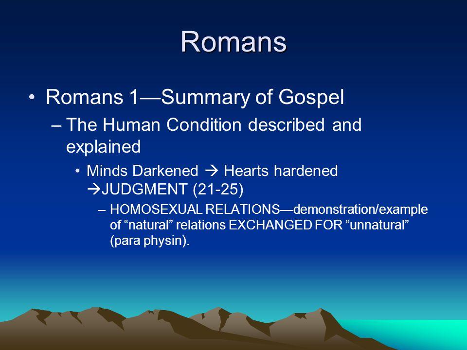 Romans 1.Rom 1:16–17.