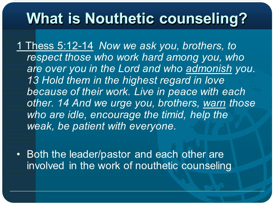 The Holy Spirit & Counseling John 14:15-17 If you love me, you will obey what I command.