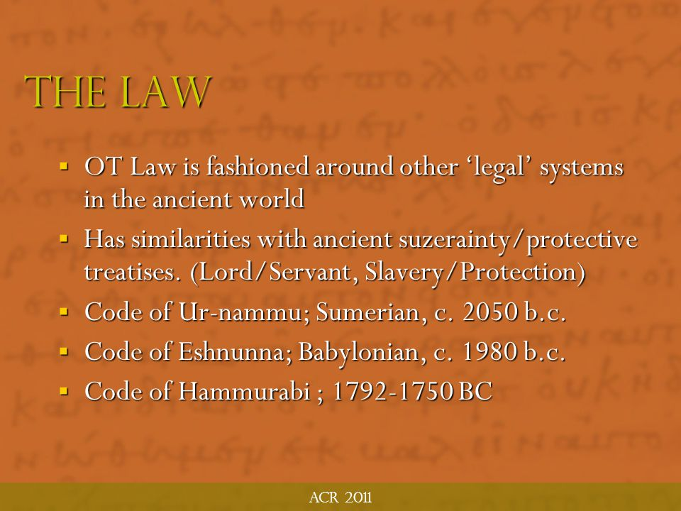 Acr 2011 Collections of law 1.