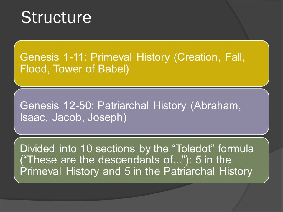 Structure I.Preparation to go to the Promised Land (chap.