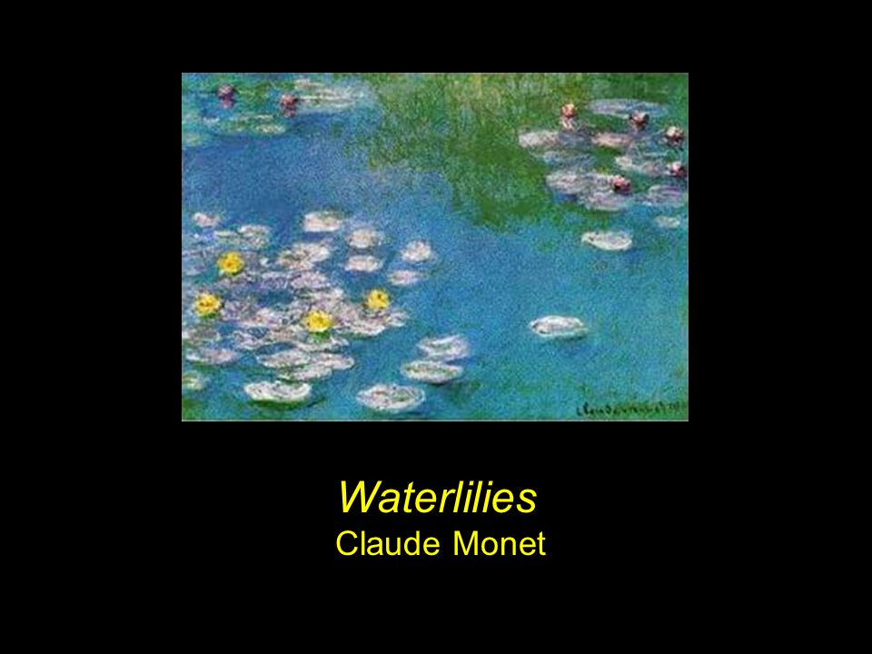 Waterlilies Claude Monet