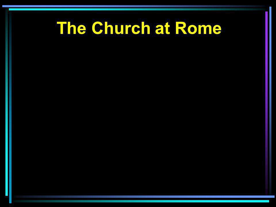 The Church at Rome