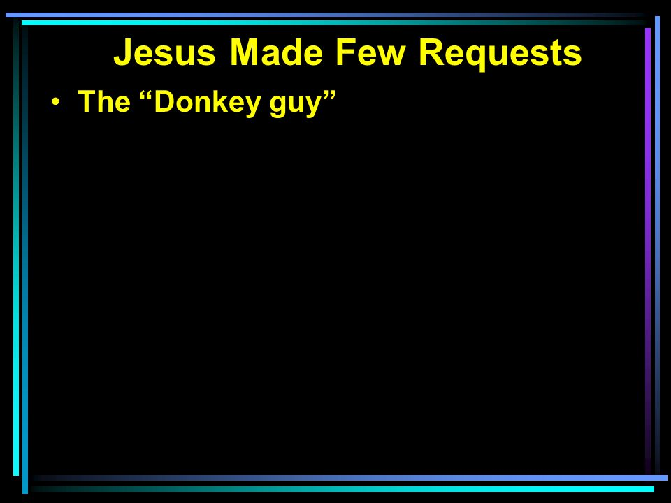 The Donkey guy