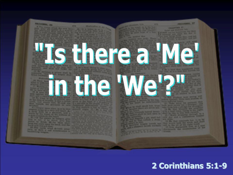 2 Corinthians 5:1-9