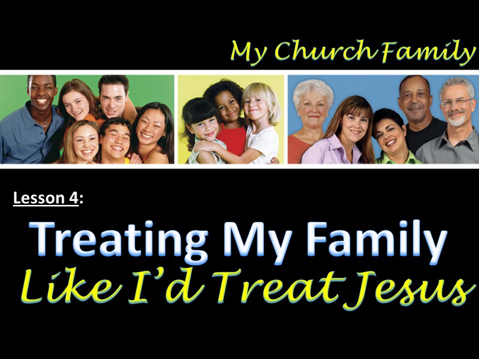 Summary of Our Relationship in the Church Family We are all family…by faith (Gal.