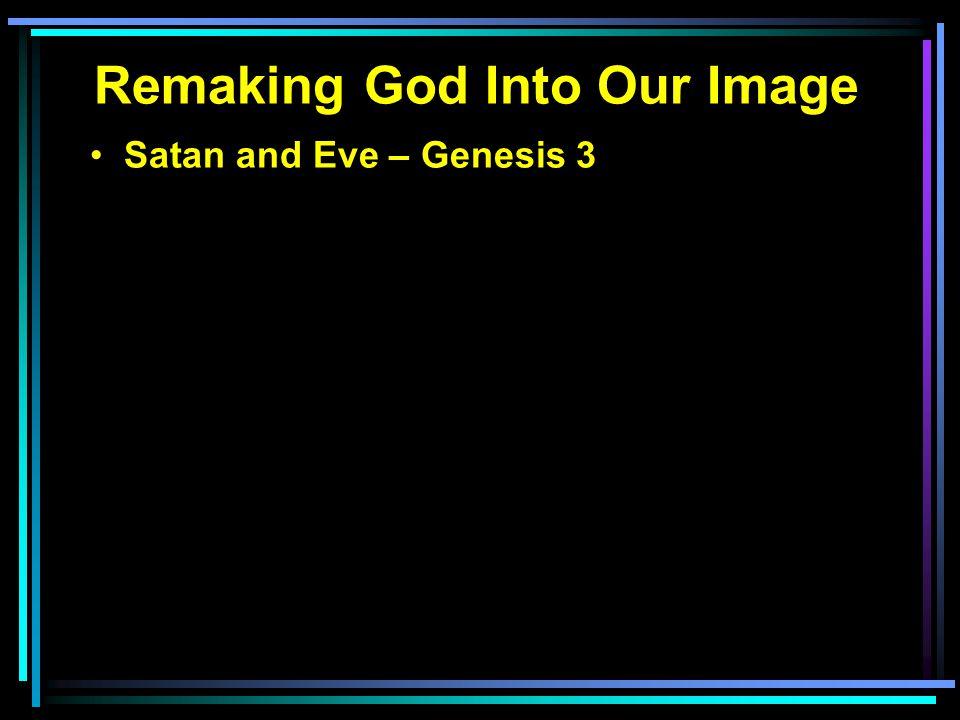 Satan and Eve – Genesis 3