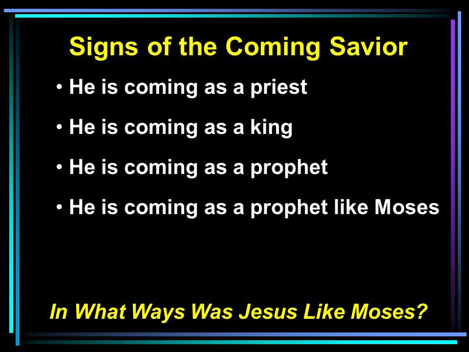 EventMoses Jesus