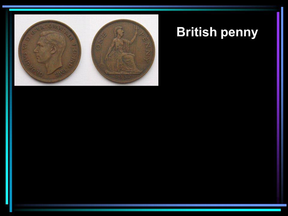 British penny