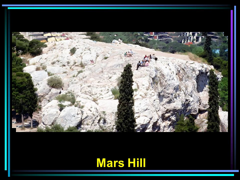 Steps to the top of Mars Hill