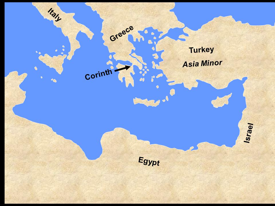 Corinth—an introduction Corinth—before the gospel Corinth—Paul's arrival – Acts 18 Corinth—Paul's preaching – 2:2; 15:1-4 Corinth—Repentance illustrated – 6:9-11