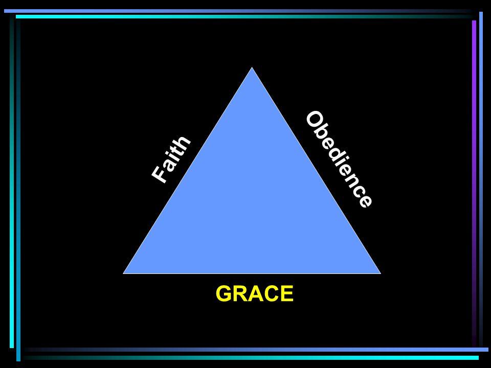 GRACE Obedience Faith