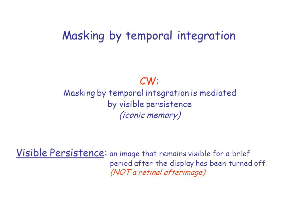 In addition, common-onset masking occurs without substantial masking contours (four-dot masking)