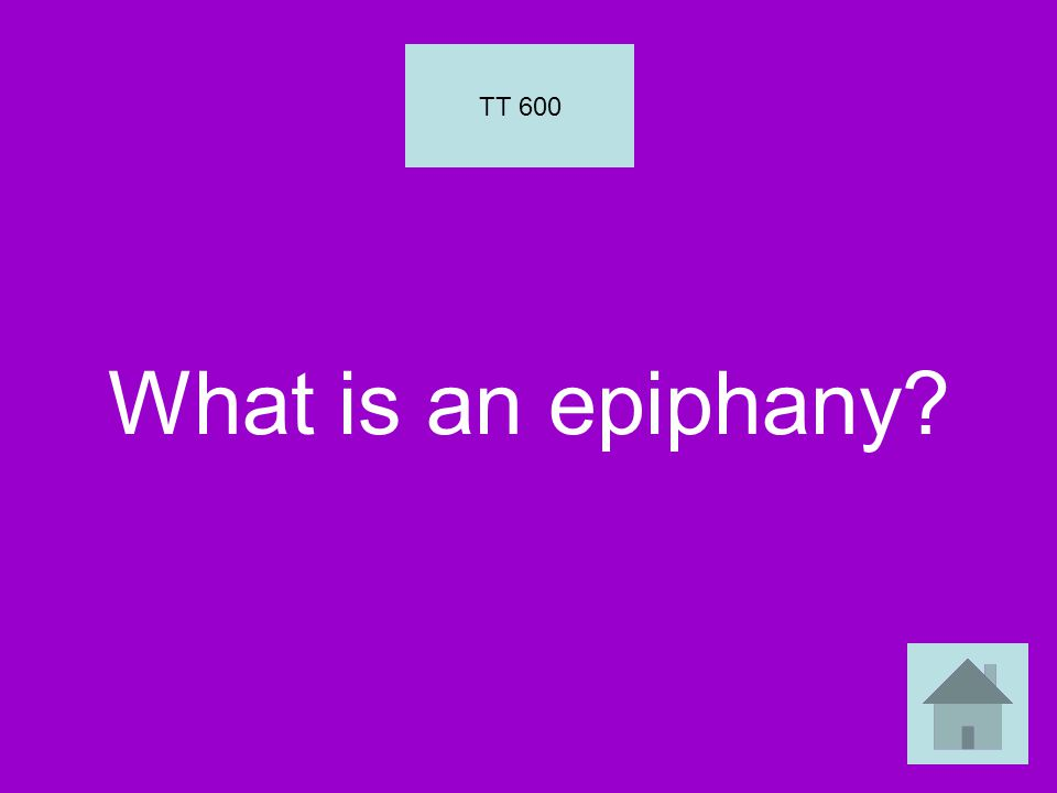 What is an epiphany TT 600