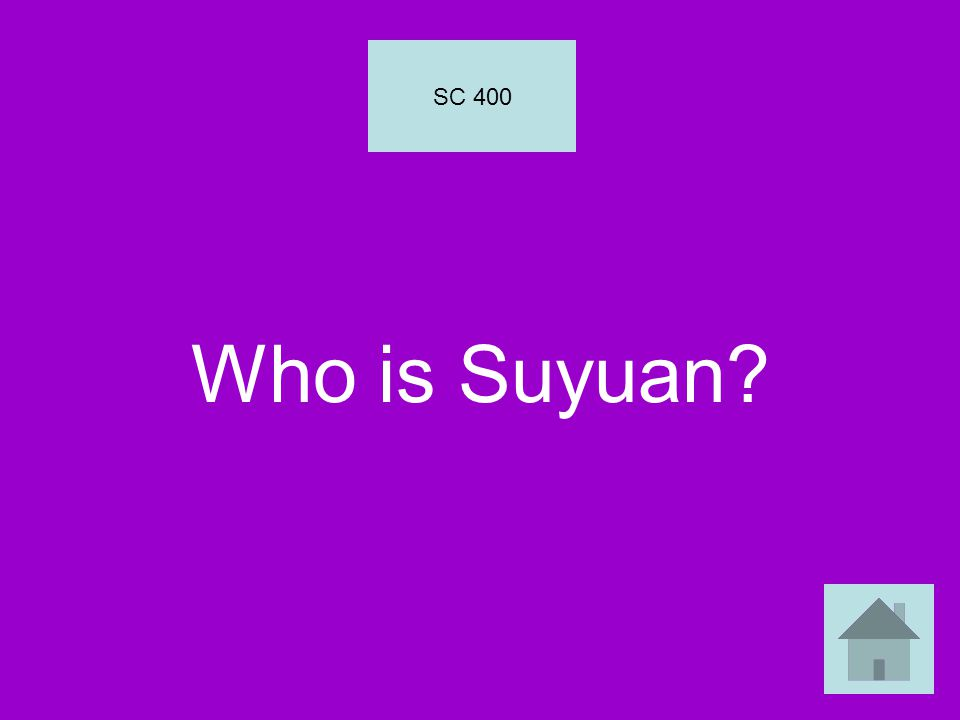 Who is Suyuan? SC 400