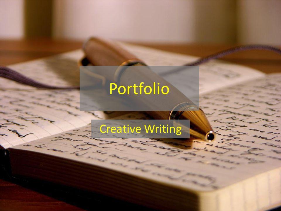 Portfolio Creative Writing
