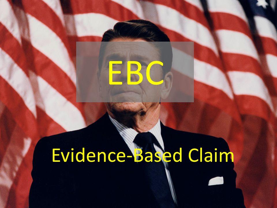 EBC Evidence-Based Claim