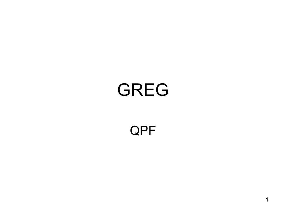 1 GREG QPF