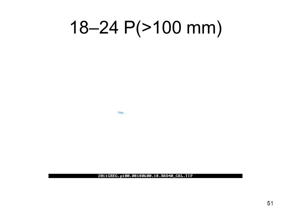 51 18–24 P(>100 mm)