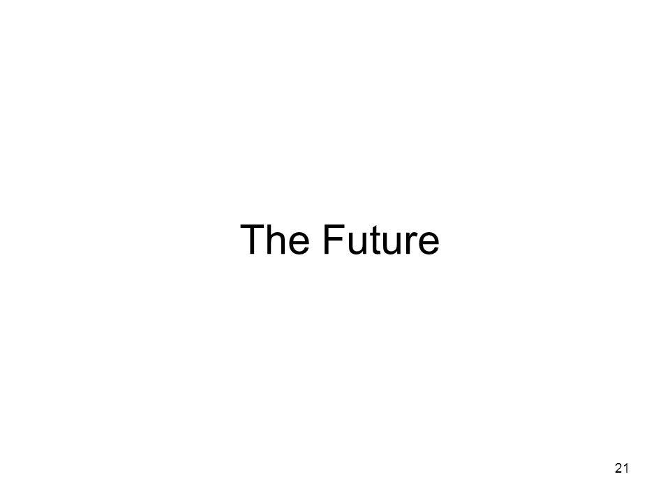 21 The Future