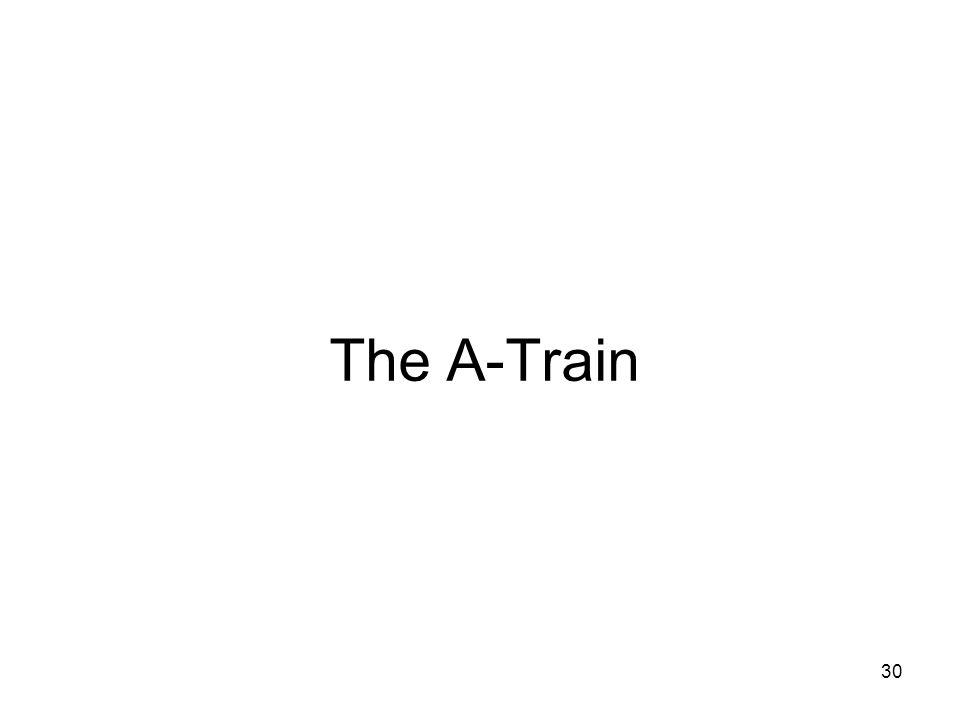 30 The A-Train