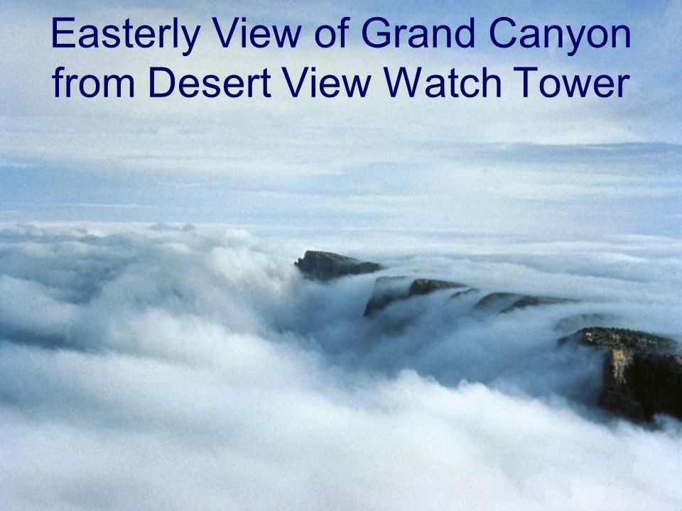 Easterly View of Grand Canyon from Desert View Watch Tower