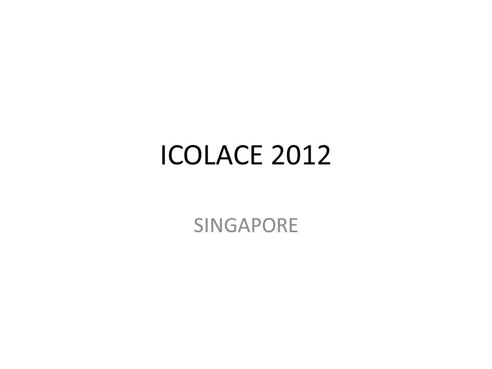 ICOLACE 2012 SINGAPORE