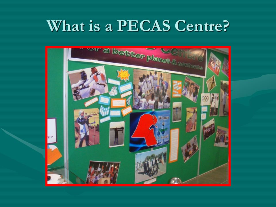 What is a PECAS Centre