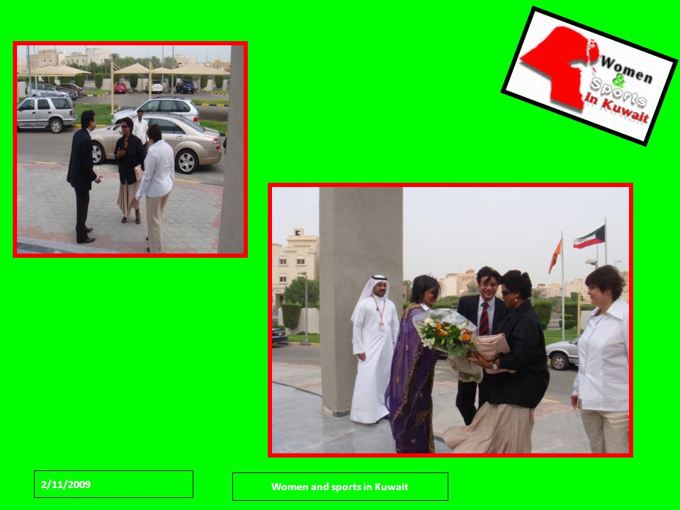 2/11/2009 Women and sports in Kuwait