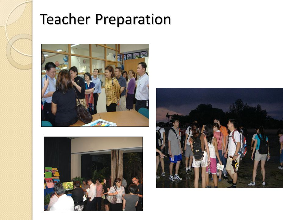 Teacher Preparation