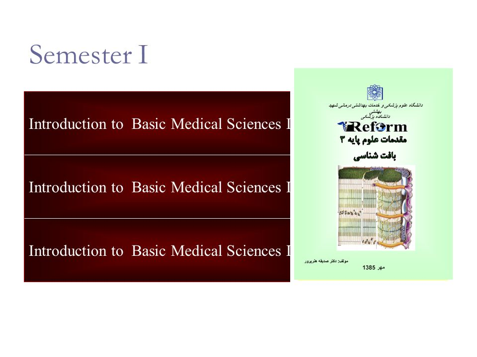 Information Technology Study Skills General Units Introduction to Basic Medical Sciences I Introduction to Basic Medical Sciences II Introduction to Basic Medical Sciences III Semester I
