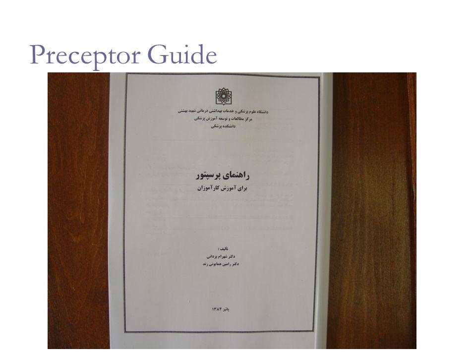 Preceptor Guide
