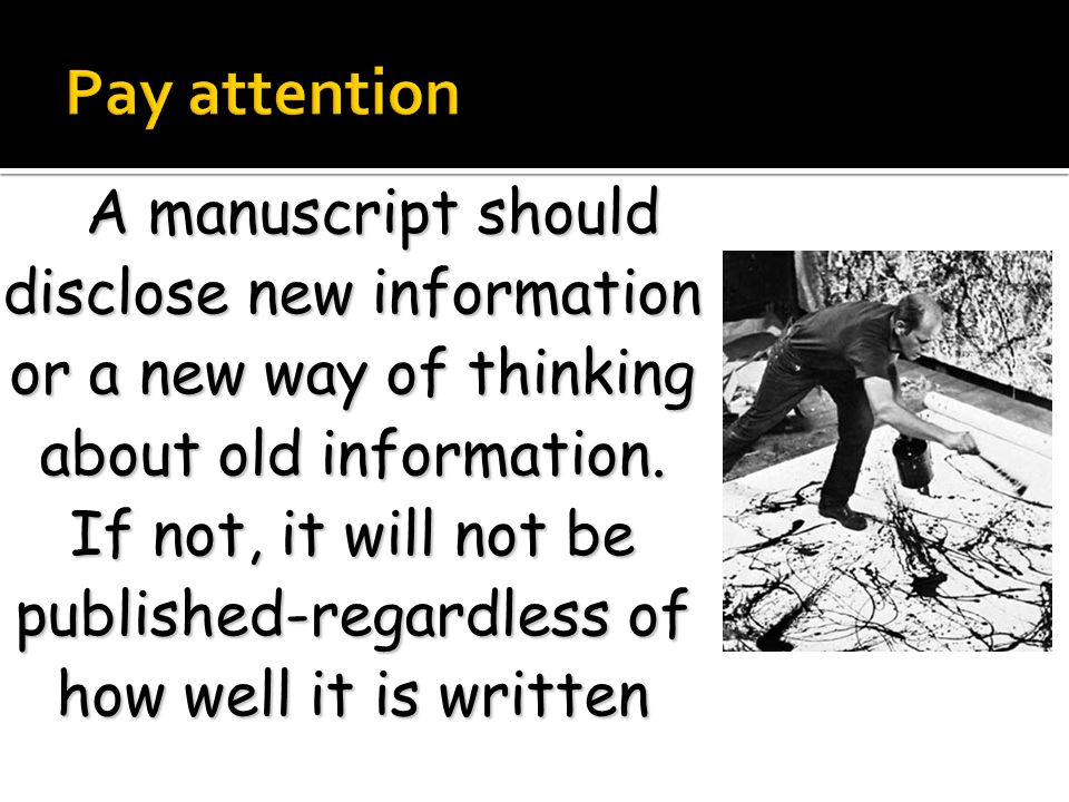 Pay more attention to the main considerations of your research according to your study type