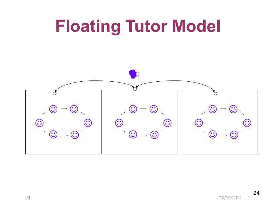 10/10/201424 Floating Tutor Model
