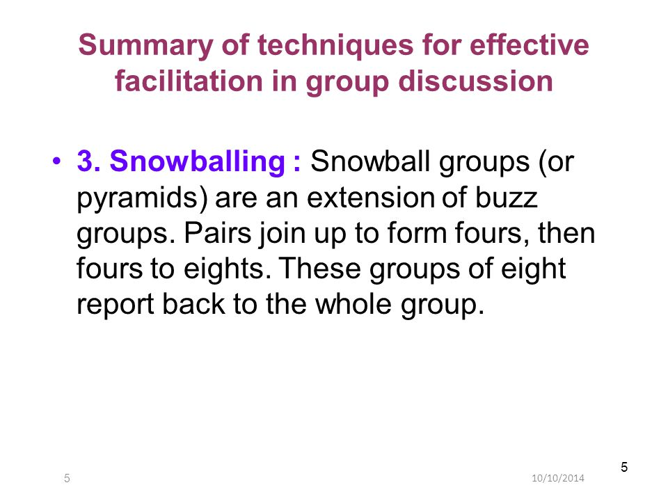 10/10/201426 Evaluating small group teaching.