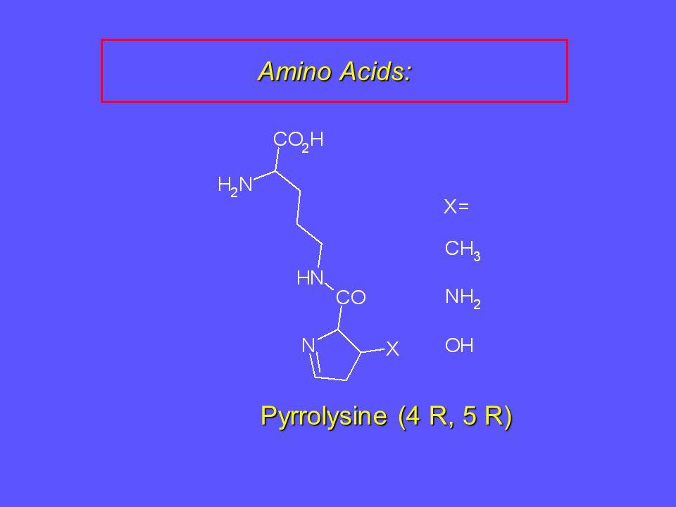 Pyrrolysine (4 R, 5 R)
