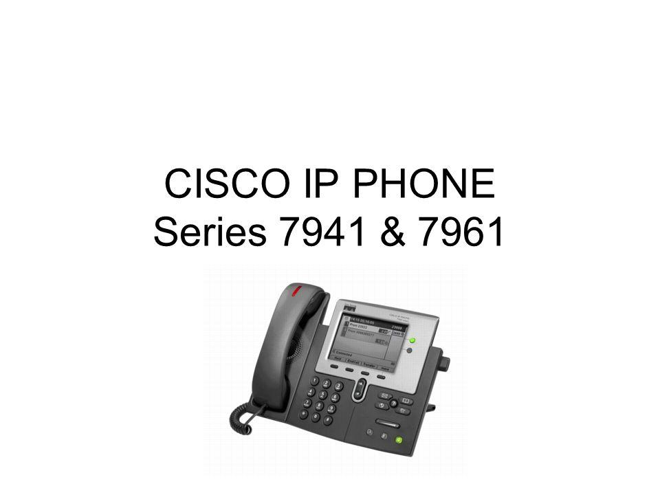CISCO IP PHONE Series 7941 & 7961