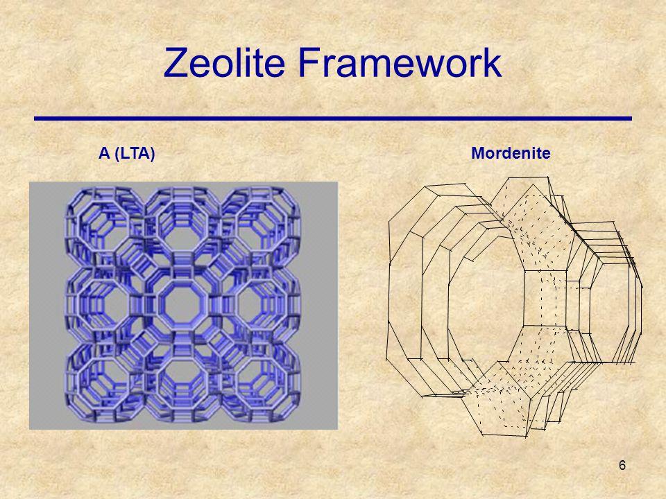 6 Zeolite Framework MordeniteA (LTA)