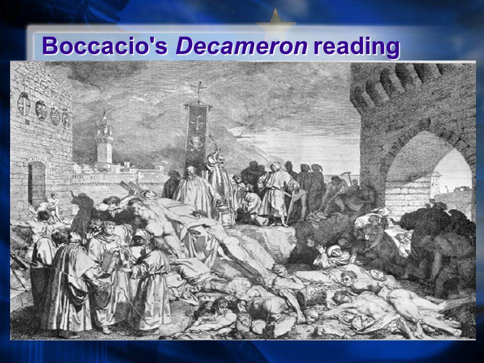 Boccacio s Decameron reading