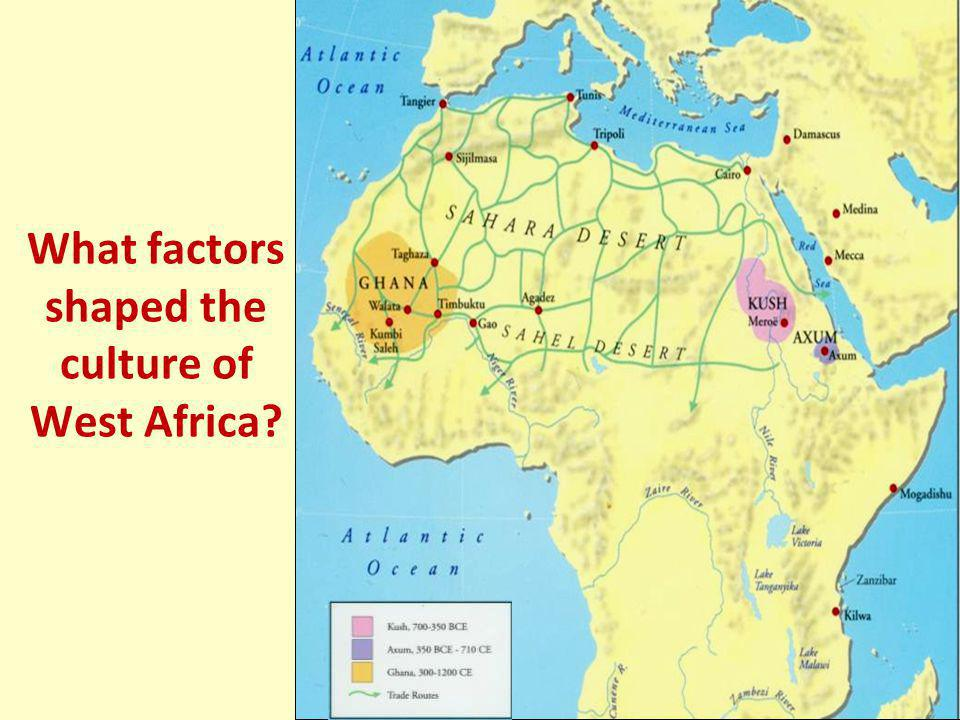 EAST AFRICA The mix of African and Arab cultures led to the development of a new language: Swahili East African towns had mosques (Muslim places of wo