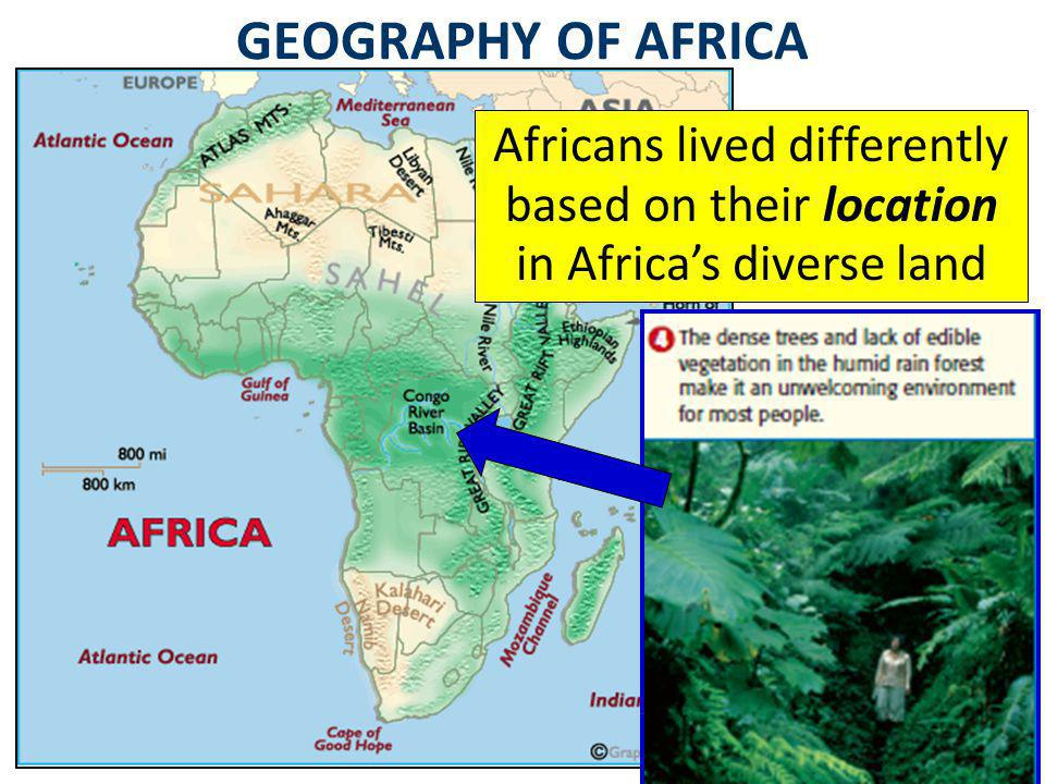 What factors shaped the culture of East Africa?