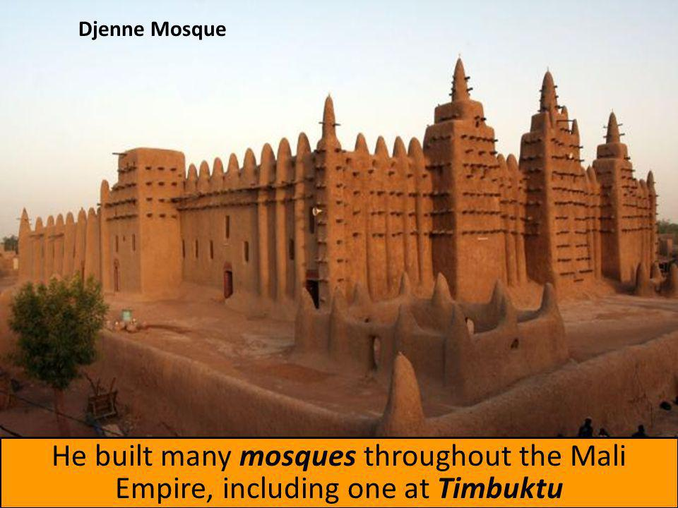 When Mansa Musa returned from Mecca, he was filled with religious fervor