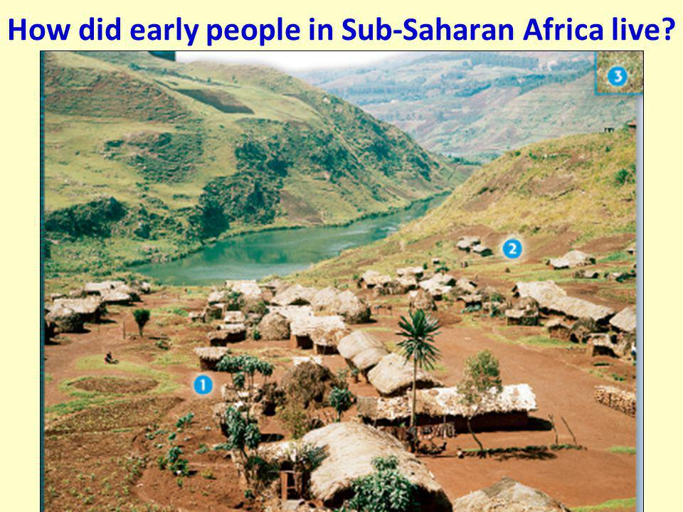 EARLY SOCIETIES OF AFRICA However, African societies south of the Sahara were isolated from the cultural diffusion of the Classical Era As a result, t