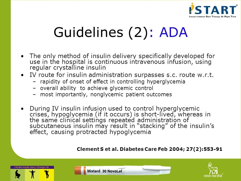 Guidelines (1): ACE American College of Endocrinology Hyperglycaemia is common Tight metabolic control is important Upper limit for glycemic targets i