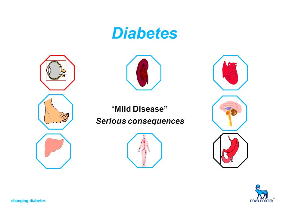 "Diabetes ""Mild Disease"" Serious consequences"