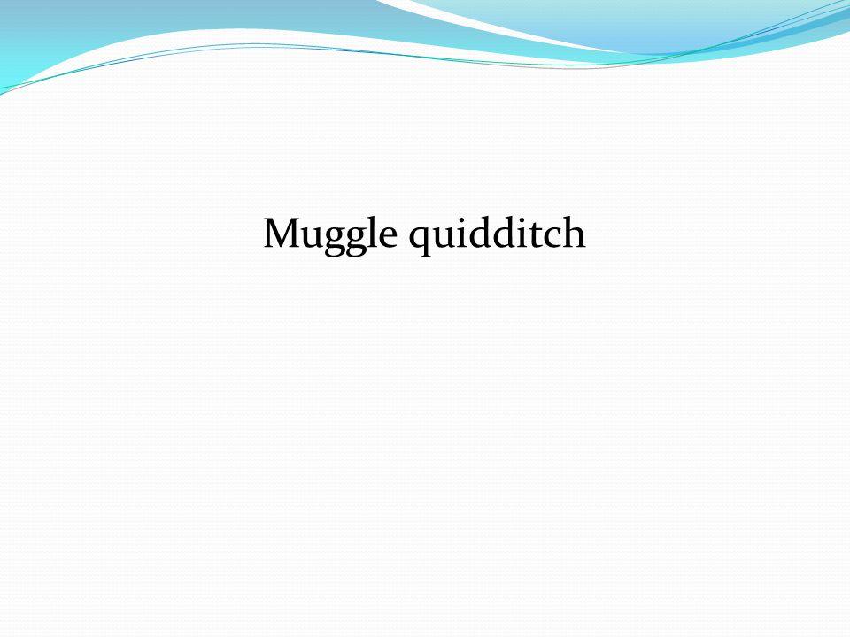 Muggle quidditch