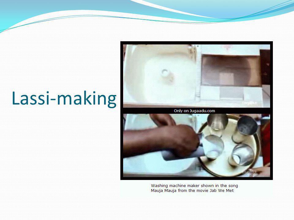 Lassi-making