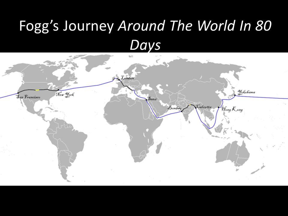 Fogg's Journey Around The World In 80 Days