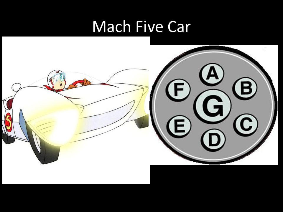 Mach Five Car